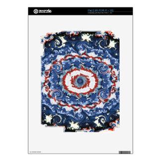 Patriotic Plasticity iPad 2 Decals