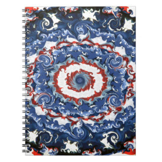 Patriotic Plasticity Spiral Notebook
