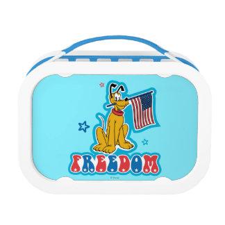 Patriotic Pluto - Freedom Yubo Lunch Box
