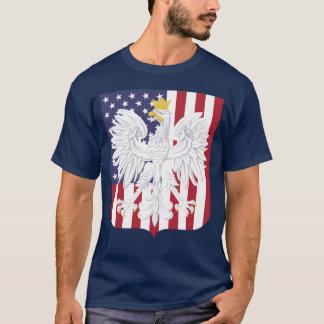 Patriotic Polish American Coat Of Arms T-Shirt
