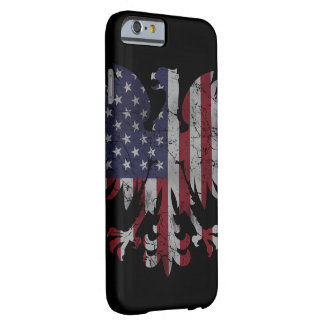 Patriotic Polish American Eagle Flag Heritage Barely There iPhone 6 Case