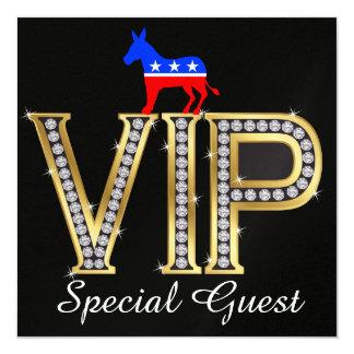 Patriotic Political Democrat Invitation - SRF