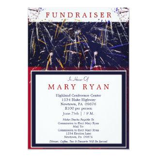 Patriotic Political Fundraiser Invitation