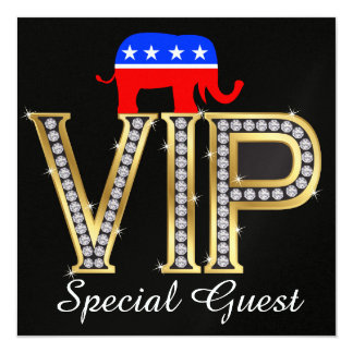 Patriotic Political Republican Invitation - SRF