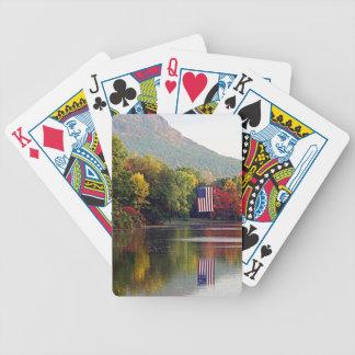 Patriotic Pond Playing Cards