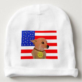 Patriotic Pooch Baby Beanie