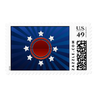 patriotic postage stamps