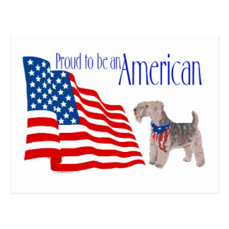 Patriotic Pride in America Postcard