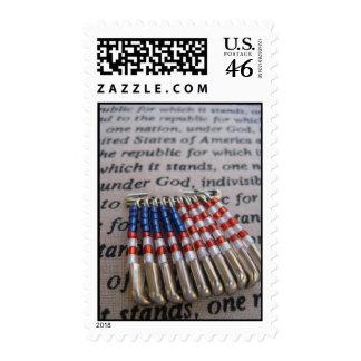 Patriotic Pride Postage Stamps