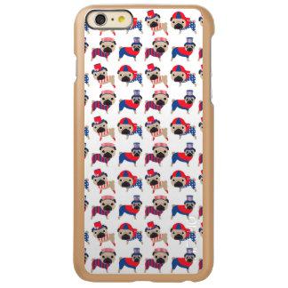 Patriotic Pugs Incipio Feather Shine iPhone 6 Plus Case