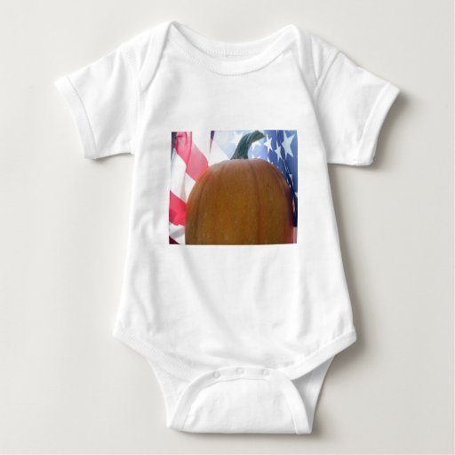 Patriotic Pumpkin T Shirt
