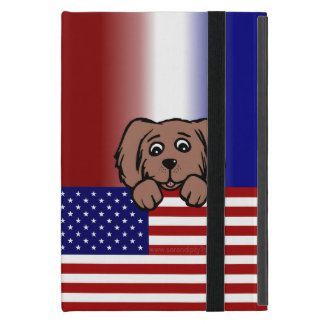 Patriotic Pup iPad Mini Cover