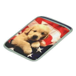 Patriotic Puppy Sleeve Sleeve For iPads