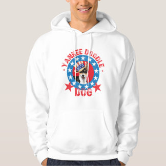 Patriotic Rat Terrier Hoodie