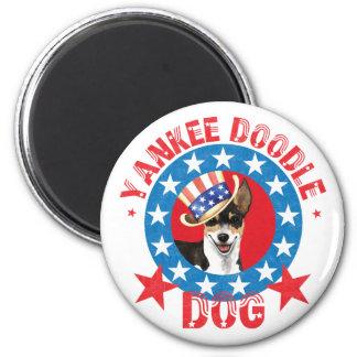 Patriotic Rat Terrier Magnet