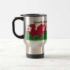 Patriotic Red Dragon Of Wales Travel Mug Or Glass at Zazzle