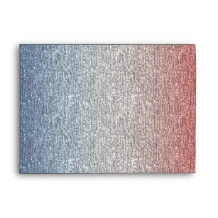 768c17becac8 Patriotic Red White Blue American Flag Envelopes