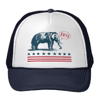 Patriotic Republican 2012 GOP Campaign Trucker Cap Trucker Hat