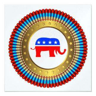 Patriotic Republican Invitation - SRF