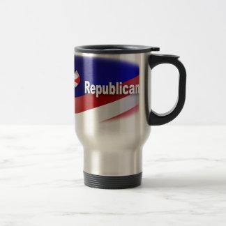 Patriotic Republican Symbols Travel Mug