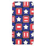 Patriotic Retro RWB Stars & Bars iPhone 5C Case