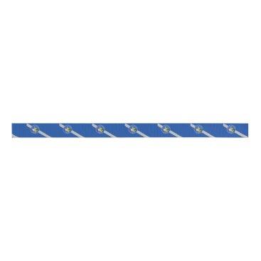 Patriotic Ribbon with Flag of Las Vegas