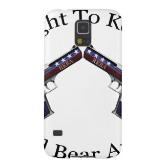 Patriotic Right To Keep And Bear Arms Galaxy S5 Cover