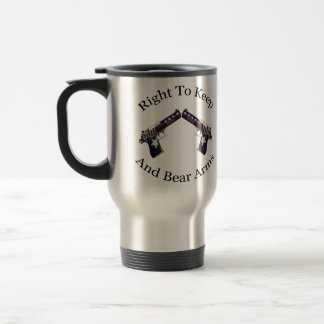 Patriotic Right To Keep And Bear Arms Coffee Mugs