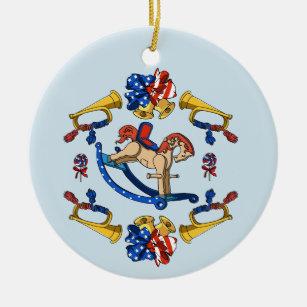 Rocking Horse Ornaments Amp Keepsake Ornaments Zazzle