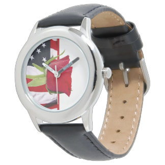 Patriotic Rose Watch