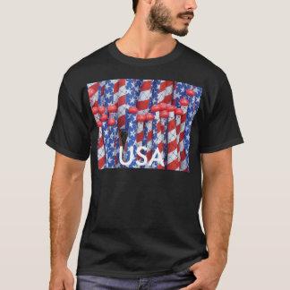 Patriotic Row T-Shirt