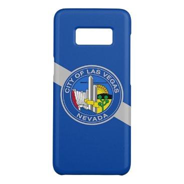 Patriotic Samsung Galaxy S8 Case Flag of Las Vegas