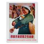 Patriotic sanitation activites poster