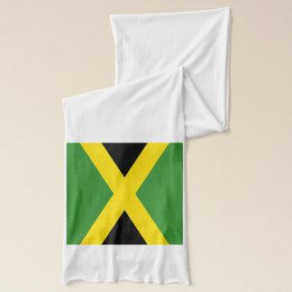 Patriotic Scarf with Flag of Jamaica
