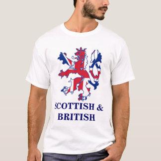 Patriotic Scottish and Brtish T-Shirt