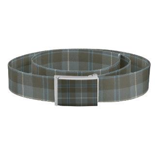 Patriotic Scottish Clan Fraser Plaid Tartan Belt