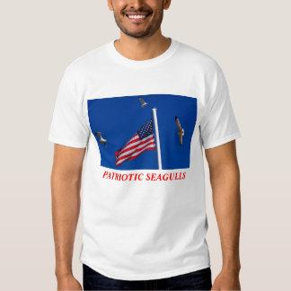 PATRIOTIC SEAGULLS T-Shirt