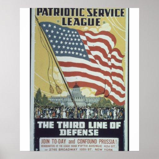 Patriotic_Service_League._Propaganda Poster