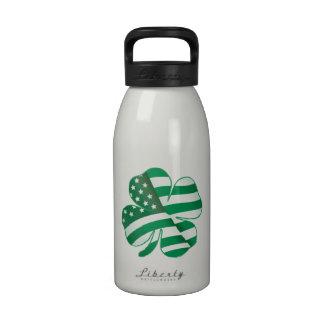 Patriotic Shamrock II Water Bottle