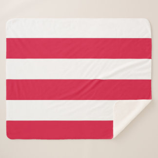 Patriotic Sherpa Blanket with Poland flag