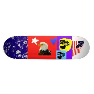 Patriotic Skateboard