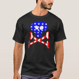 Patriotic Skeleton T-Shirt