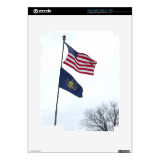 Patriotic Decal For The iPad 2