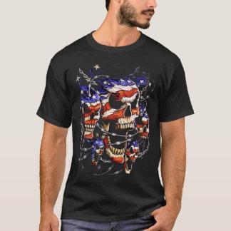 Patriotic Skull T-Shirt