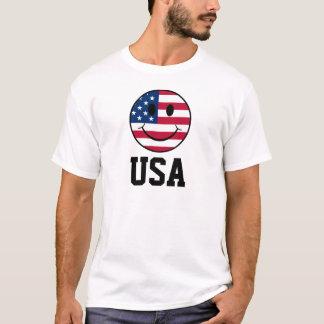Patriotic Smiley T-Shirt
