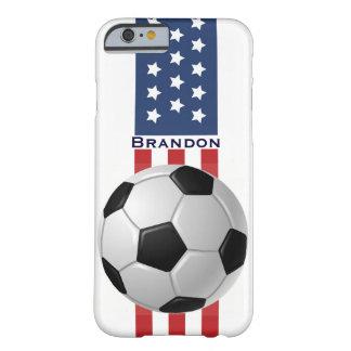 Patriotic Soccer Design iPhone 6 Plus Case