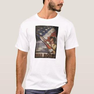 Patriotic Soldier Holding Flag T-Shirt