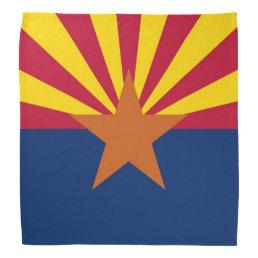 Patriotic, special bandana with Flag of Arizona