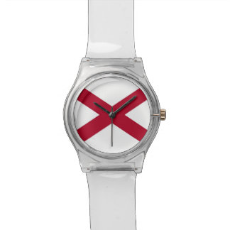 Patriotic, special kids watch with Flag of Alabama