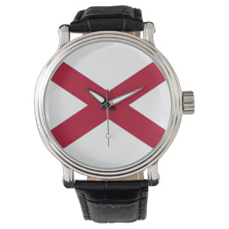 Patriotic, special watch with Flag of Albama, USA